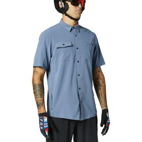 Fox Flexair Woven SS Jersey Men, azul